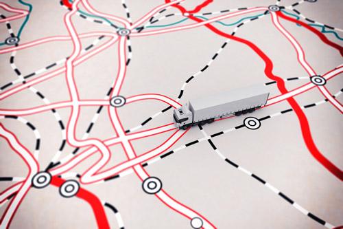 LKW-Routenplanung - Automatisierung