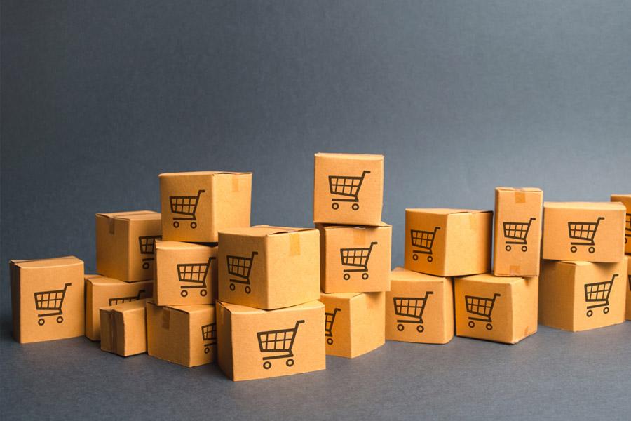 E-commerce im Lager
